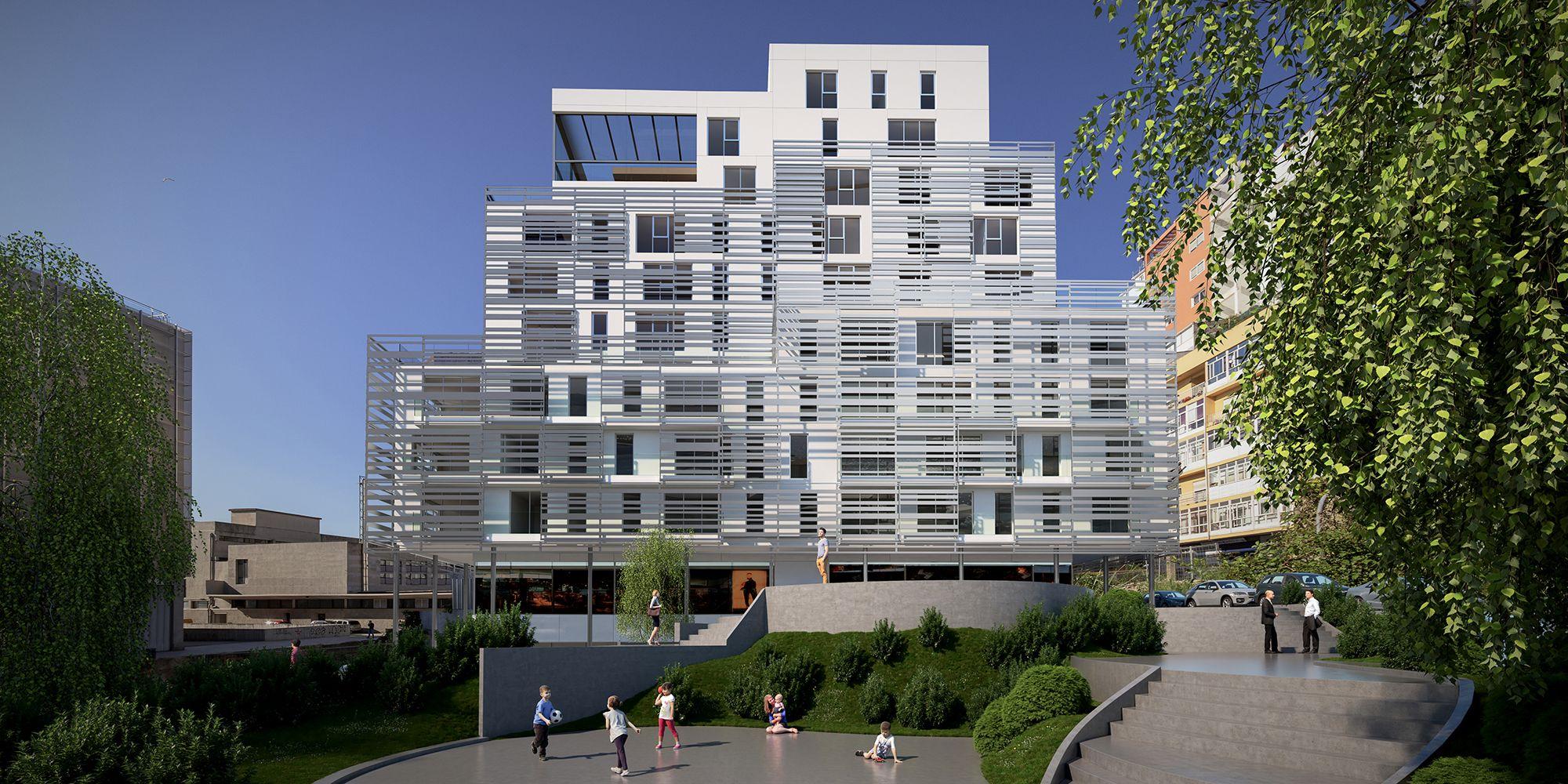 Infografias Arquitectura 3D Vigo